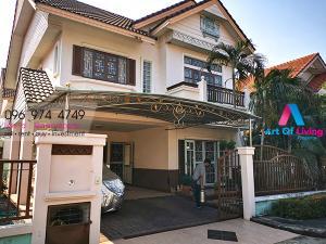 For RentHouseRamkhamhaeng,Min Buri, Romklao : house for rent Thararom Park Waycha AOL-F81-2104003729