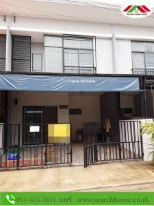 For SaleTownhouseBang kae, Phetkasem : 2-storey townhouse for sale, 18.7 sq m, Pruksa Ville 85. Liab Klong Thaweewattana Road, beautiful condition, ready to live, contact Mr.