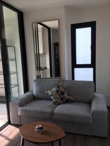 For SaleCondoOnnut, Udomsuk : M3397-Sale with tenants, Condo The Base Park West, Sukhumvit 77, near BTS On Nut, fully furnished, ready to move in