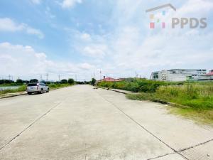 For SaleLandSamrong, Samut Prakan : Land for sale on Sukhumvit Road, Soi Thetsaban-Bang Pu, Samut Prakan
