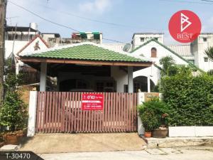 For SaleHouseSamrong, Samut Prakan : Single storey house for sale. Goldfish Village, Karat, Bangna Km.7, Bang Kaeo, Samut Prakan