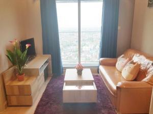 For RentCondoBangbuathong, Sainoi : W0046 # Casa Bangyai room for rent, room size: 26 sq m, 15th floor.