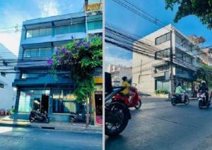 เช่าตึกแถว อาคารพาณิชย์ลาดพร้าว101 แฮปปี้แลนด์ : For Rent ให้เช่า อาคารพาณิชย์ 2 คูหา หลังมุม ที่จอดส่วนตัว 6 คัน ทำเลดีมากติดถนนใหญ่ ซอยมหาดไทย ซอยลาดพร้าว 122 เหมาะเป็น Showroom , Studio , สำนักงาน