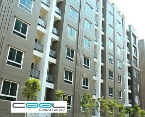 For RentCondoRama5, Ratchapruek, Bangkruai : * New arrival room * Very special * 5,000.- baht * for rent, Cool Condo Rama 7, near EGAT, Rama 7, near Pinklao Near Wong Sawang