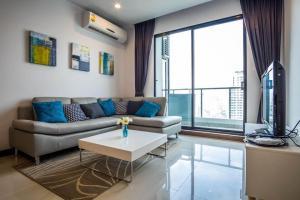 For RentCondoRama9, RCA, Petchaburi : +++ Urgent rent SUPALAI PREMIER ASOKE *** 2 bedrooms, 2 bathrooms, size 85 sq m, fully furnished +++