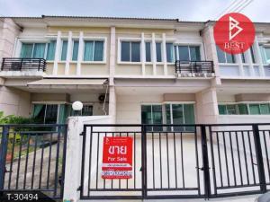 For SaleTownhouseSamrong, Samut Prakan : Urgent sale Townhouse Vista One Eight O Thepharak-Wongwaen (Vista180 Teparak-Wongwaen) Samut Prakan.