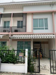 For SaleTownhouseBangbuathong, Sainoi : Townhome for sale, Pleno Village, Soi Bang Bua Thong land