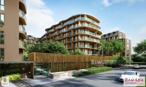 For SaleCondoPattaya, Bangsaen, Chonburi : Investment condo, get return, Ramada Mira North Pattaya project.