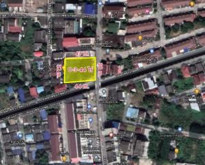 For SaleLandBang kae, Phetkasem : Beautiful land for sale in Phetkasem community area, 110, Bangkok, 3 ngan, 44 square wah, ready to transfer.