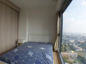 เช่าคอนโดอ่อนนุช อุดมสุข : ให้เช่า วิสซ์ดอม คอนเนค สุขุมวิท 1 ห้องนอน 29 ตรม. ชั้น 33  ใกล้ BTS ปุณณวิถึ  วิวเมืองสวยมาก ห้องเย็น ทิศใต้