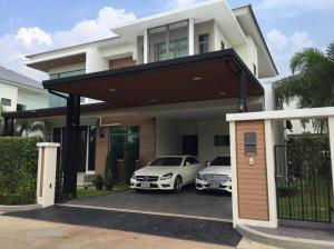For SaleHouseRattanathibet, Sanambinna : ⭐🚩 House for sale, luxury project‼ ️ (H1121) Perfect Masterpiece Century Rattanathibet, near the Purple Line, Sai Ma Station