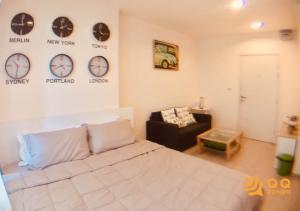 For SaleCondoBang Sue, Wong Sawang : For Sale  Aspire Ratchada-Wongsawang  Studio , size 23 sq.m., Beautiful room, fully furnished.