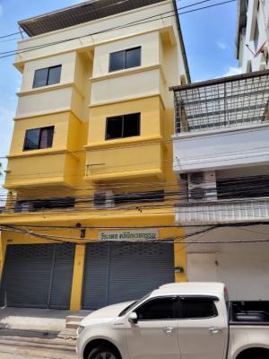 For RentShophouseNakhon Pathom, Phutthamonthon, Salaya : ให้เช่า ตึกแถว อาคารพานิชย์ 3 ชั้น เลียบคลองทวี ใกล้ บิ๊กซี เพชรเกษม 📲Tel/Line: K.Bo 094-1624424