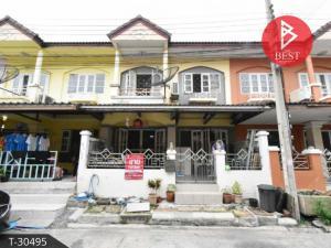 For SaleTownhouseSamrong, Samut Prakan : Townhouse for sale Suthawee Village Cluster House Bangplee, Samut Prakan