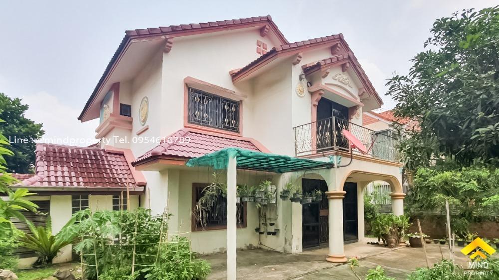 For SaleHouseRamkhamhaeng,Min Buri, Romklao : 2 storey detached house for sale, Tararom Village, Ramkhamhaeng 150, Soi Rat Phatthana 22, near BTS Romklao, Srinakarin.