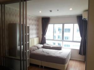 For RentCondoBangna, Lasalle, Bearing : For rent, Condo Lumpini Mega City Bangna, 26.1 sqm., 1 bedroom, 1 bathroom, 21st floor *, beautiful room, pool view