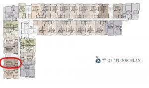 ขายดาวน์คอนโดวงเวียนใหญ่ เจริญนคร : (เจ้าของขายเอง) 1BD 48 ตรม ชั้น 12 วิวทิศตะวันตก เหมาะกับคนรักสงบ ราคาพิเศษ ติด BTS สายสีทอง สถานีคลองสาน