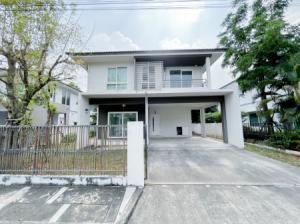 For SaleHouseBangbuathong, Sainoi : House for sale, 5.3 million, Chaiyapruek, Rattanathibet, Ring Road, 135 sq m, 57.7 sq m, beautiful large location.