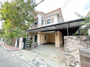 For SaleHouseChengwatana, Muangthong : House for sale 4.35 million Saransiri Ratchaphruek-Chaengwattana, 128 sq m, 52.4 sq m, next to Ratchapruek road.
