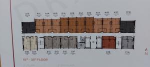 Sale DownCondoRangsit, Patumtani : Sale down payment of studio room 14th floor discount 280,000