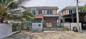 For SaleHouseRama5, Ratchapruek, Bangkruai : House for sale in the corner of Dzio Ratchapruek - Rattanathibet 53.9 sq m. North, the best price in the project.