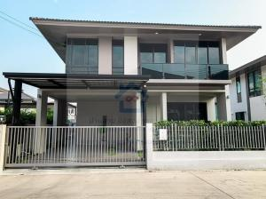 For SaleHouseRayong : Quick sale, single house, Confederation Private Park 3 project, Rayong, brand new, beautiful house, decorated, built-in, ready to move in.