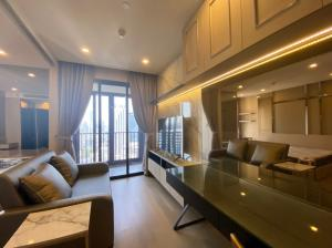For RentCondoSukhumvit, Asoke, Thonglor : RTL0088 For rent ASHTON ASOKE Condo .34 Sqm. 1 bed 1 bath. Fully furnished,ready to move in.