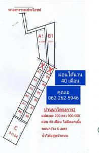 For SaleLandNakhon Nayok : Beautiful, good location, Ban Na, Ban Prik, Nakhon Nayok interested call 0622625946 ID 622625946
