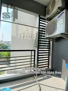 For RentCondoRama5, Ratchapruek, Bangkruai : #ให้เช่าสัมมากรเอสเก้าคอนโดมิเนียมรัตนาธิเบศร์ (S9 Sammakorn Rattanathibet) ขนาด 27 ตร.ม  ตึก A ชั้น 4 #มีเครื่องซักผ้า #ราคาถูก 1 ห้องนอน  1 ห้องน้ำ  1 ที่จอดรถ