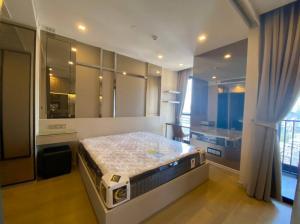 For RentCondoSukhumvit, Asoke, Thonglor : ✅ For rent, Ashton Asoke, near MRT, BTS, size 34 sq.m., fully furnished and electrical appliances ✅