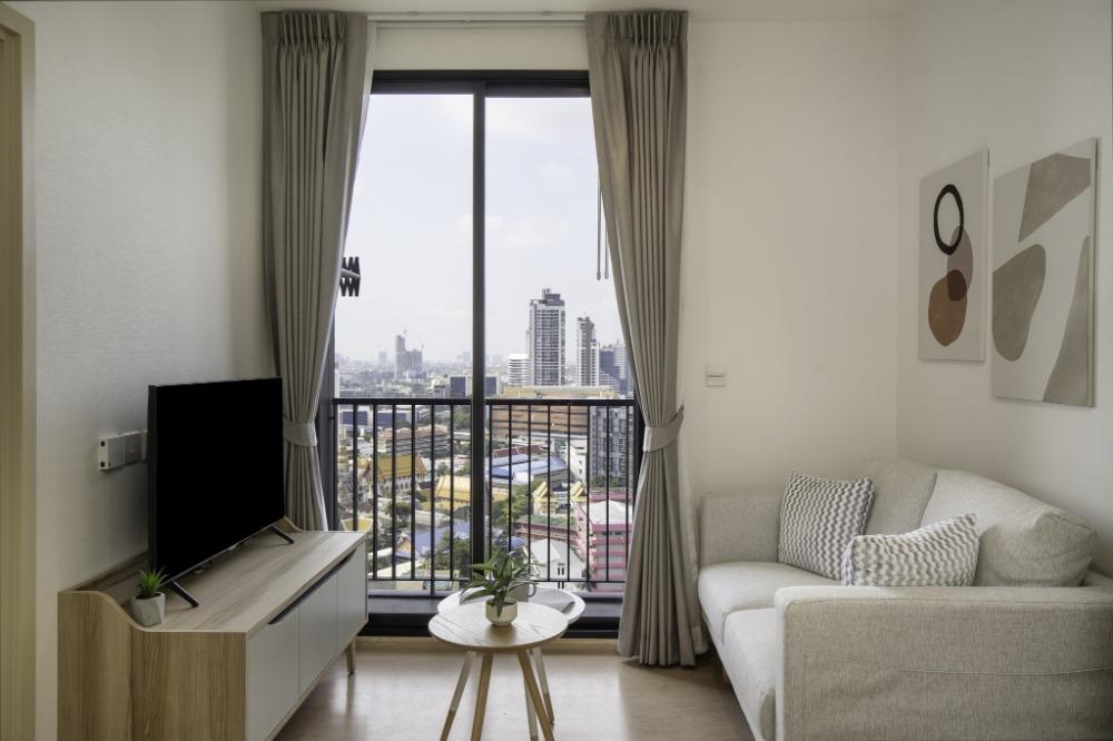 For RentCondoSukhumvit, Asoke, Thonglor : Maru Ekkamai new cozy muji style 1bedroom for rent