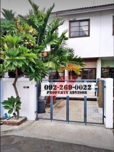 For RentTownhouseKaset Nawamin,Ladplakao : ** Rent 14,000 per month ** Townhouse in the project 2 floors 21 sq m @ Nawamin 45