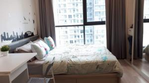 For RentCondoOnnut, Udomsuk : For rent, ready to move in, IDEO MOBI Sukhumvit, convenient transportation, near BTS only 32 meters.