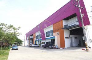 For RentWarehouseMahachai Samut Sakhon : Warehouse for rent with office, 520 - 751 sq m, Rama 2 zone, Samut Sakhon.