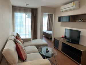 For RentCondoRama9, RCA, Petchaburi : Condo for rent, Belle Grand Rama 9 (Belle Grand Rama 9), beautiful room, new condition, ready to move in
