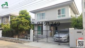 For RentHouseRattanathibet, Sanambinna : House for rent in Chaiyapruek Village. Rattanathibet-Wongwaen Soi Wat Sao Thong Hin