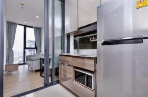 For RentCondoSapankwai,Jatujak : 🔥 Urgent for rent, condo, good location, Saphan Khwai area, there is a Walk in closet for dressing 🔥 The line Phahon Pradipat, blocking the kitchen, preventing food odor