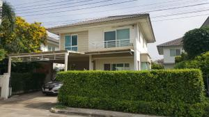 For SaleHouseNawamin, Ramindra : 2-storey detached house, 3 bedrooms, 3 bathrooms, 2 parking spaces