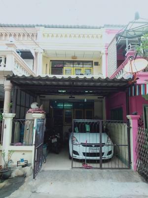 For SaleTownhouseSamrong, Samut Prakan : Townhouse for sale Chat Phet Village Soi Namdaeng, Bang Phli 13, Soi 2