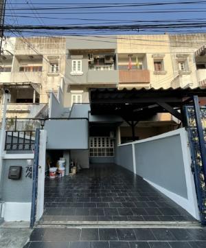 เช่าทาวน์เฮ้าส์/ทาวน์โฮมรัชดา ห้วยขวาง : Seerentsale ทาวน์โฮม พร้อมเข้าอยู่  ให้เช่า รัชดา สุทธิสาร MRT 100m. 4ห้องนอน+1 ห้องแม่บ้าน 2ที่จอดรถ