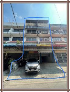 For SaleShophouseBang kae, Phetkasem : 3-storey commercial building, 2 booths, good location, trade, Soi Bunmee, next to Scb, Tha Kaset Bang Khae
