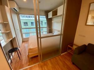For RentCondoKhlongtoei, Kluaynamthai : ✅ For rent, Lumpini Place Rama 4 - Ratchadaphisek, near MRT, size 28 sq m, fully furnished and electric appliances ✅