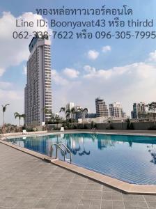 For SaleCondoSukhumvit, Asoke, Thonglor : Thonglor Tower Condo, Soi Thonglor 18, 11th floor, beautiful view, near Bts Thonglor.