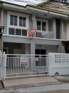 For SaleTownhouseBangbuathong, Sainoi : House for sale, Pruksa 18/1 Bangyai project.