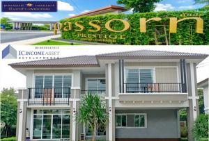 For RentHouseNakhon Pathom, Phutthamonthon, Salaya : * Very special * Newly beautiful house * House for rent, Passorn Prestige Pinklao-Petchkasem Village (Phutthamonthon Sai 4)