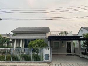 For SaleHouseRangsit, Patumtani : Single house for sale‼ ️ beautiful like a resort Warabodin Village Ring-Lamlukka The cheapest sale in the project (H1122)