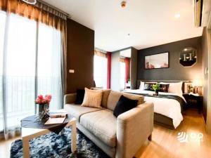 For SaleCondoRamkhamhaeng, Hua Mak : For Sale The Base Rama 9-Ramkhamhaeng - Studio, size 26 sq.m., Beautiful room, fully furnished.