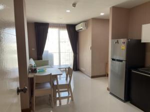 For RentCondoLadkrabang, Suwannaphum Airport : ห้องใหญ่ เย็นสบาย เข้าอยู่ได้ทันที 2 ห้องนอน ชั้น 7 ให้เช่าคอนโดแอร์ลิงก์เรสซิเดนท์