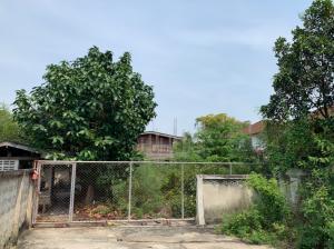 For SaleLandBang kae, Phetkasem : Cheap sale !! Land for sale Plus an old wooden house, next to Bang Chak canal, land area 246 sq m, Soi Setthakit 46, Petchkasem Road Soi Setthakit 46 Bang Khae Nuea Subdistrict, Phasi Charoen District, Bangkok