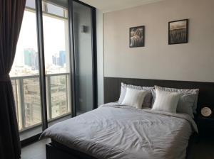 For RentCondoRama9, RCA, Petchaburi : Condo for rent A Space ID Asoke-Ratchada 1 bedroom price 13,000 baht/month